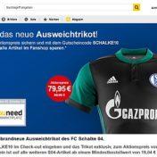Ausweichtrikot von Schalke günstiger kaufen.