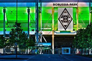 Bundesliga-Debüt im Borussia-Park.